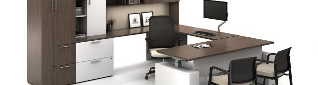 Photo of chairs at office furnature